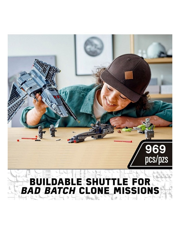 Clone Wars The Bad Batch Attack Shuttle 75314 image 5