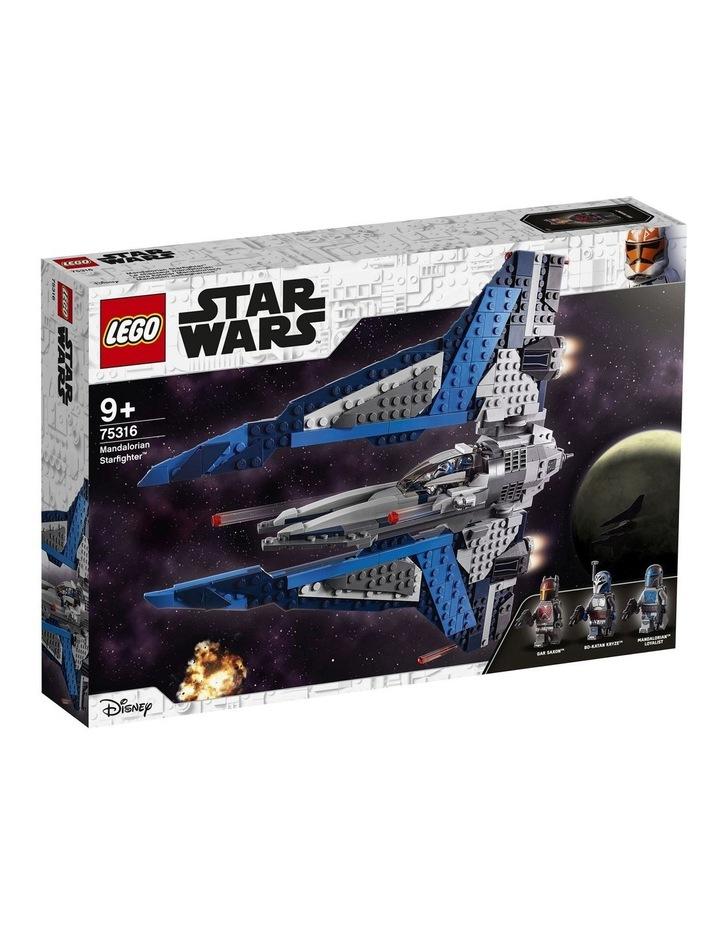 Star Wars Clone Wars Mandalorian Starfighter 75316 image 1