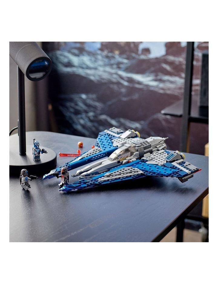 Star Wars Clone Wars Mandalorian Starfighter 75316 image 3