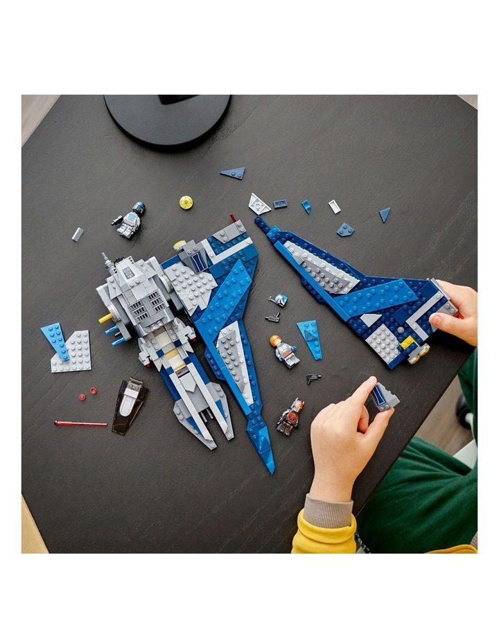 Star Wars Clone Wars Mandalorian Starfighter 75316 image 4