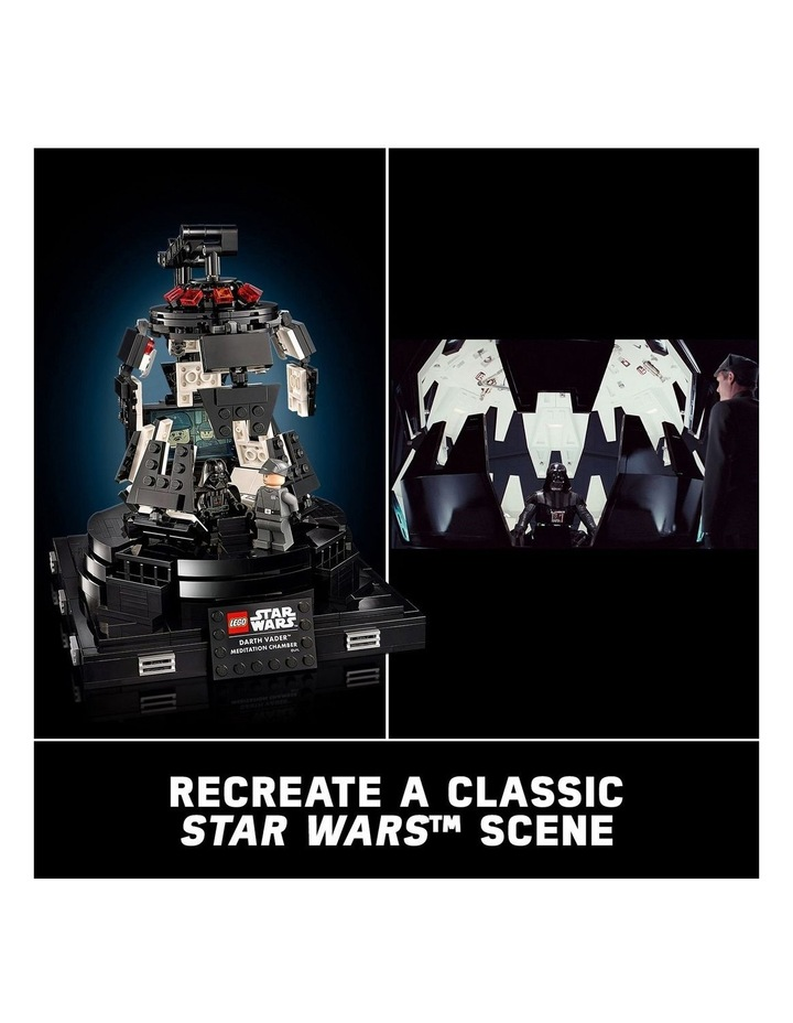 Star Wars TM Classic Darth Vader Meditation Chamber 75296 image 6