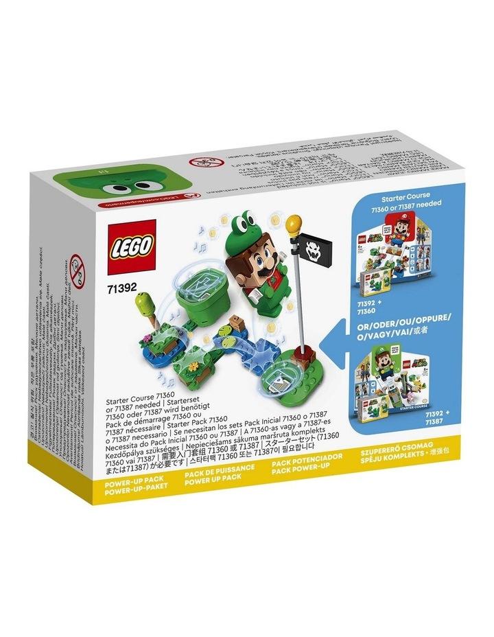 Super Mario Frog Mario Power-Up Pack 71392 image 7