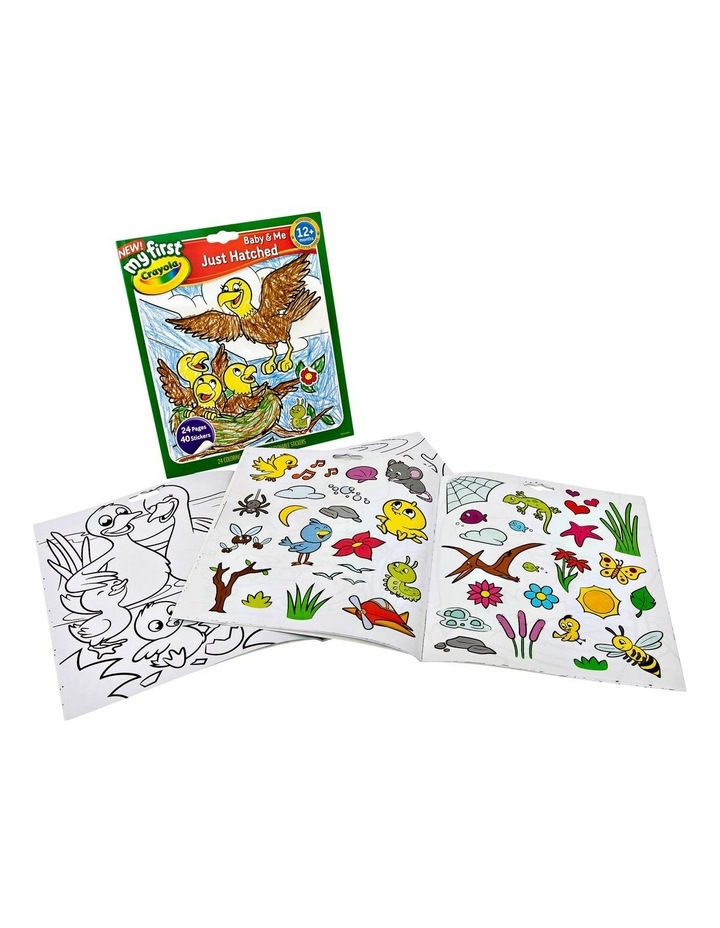 My First Color & Sticker Book Assortment image 2