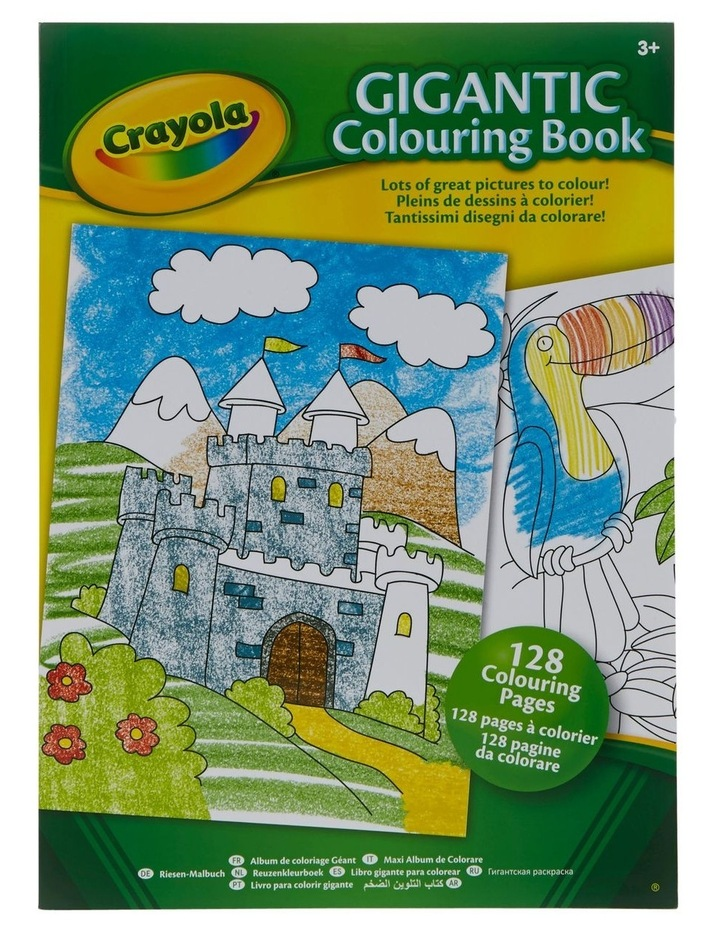 128 Page Gigantic Coloring Book image 1