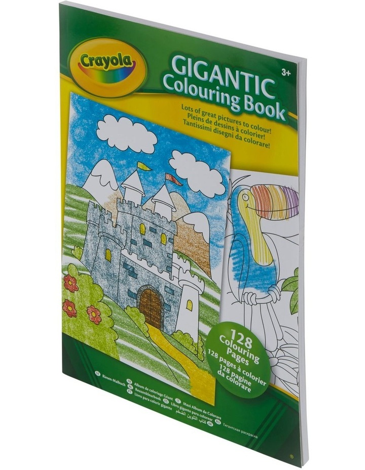 128 Page Gigantic Coloring Book image 2