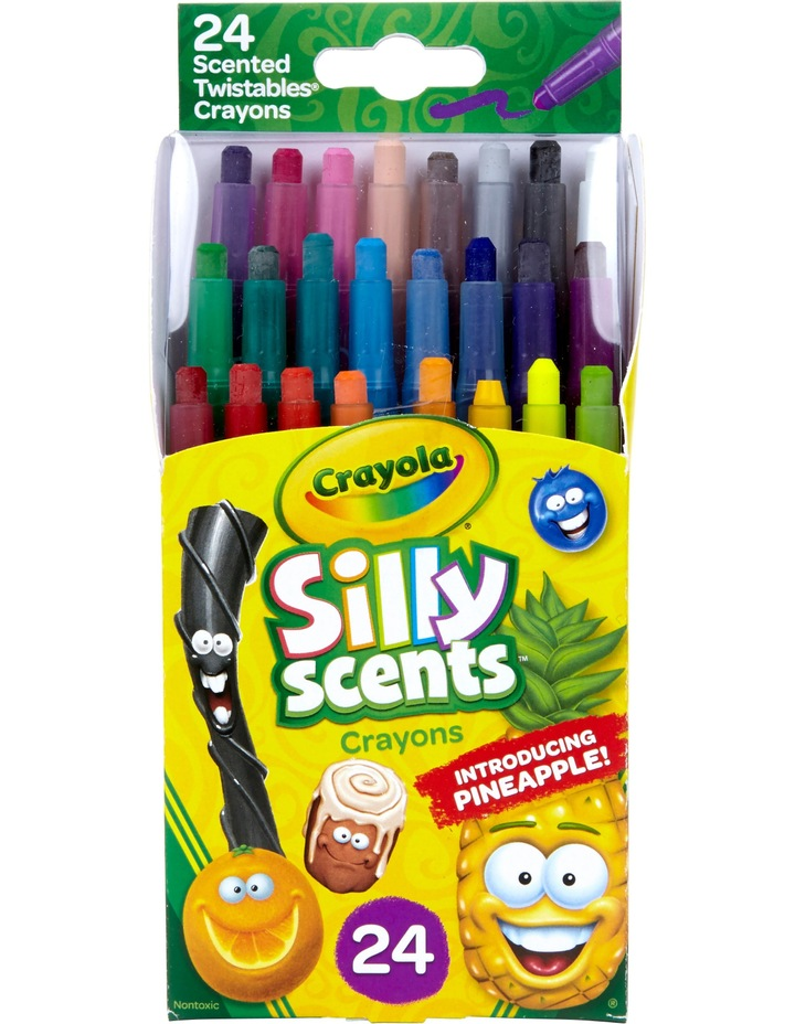 Silly Scents 24ct Mini Twistable Crayons image 1