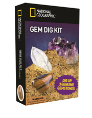 National Geographic - Gemstone Dig Kit