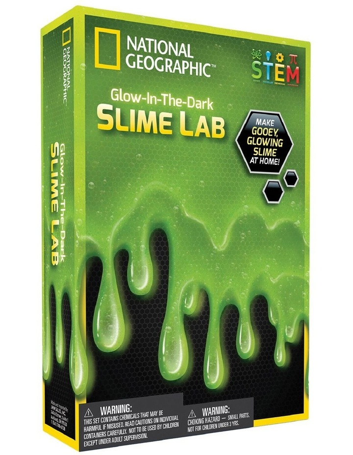Glow in the Dark Slime Lab image 1