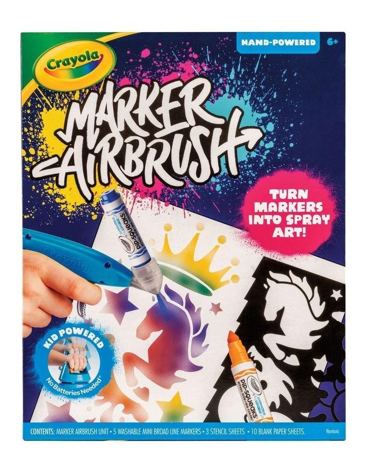 Crayola Marker Airbrush Set image 1