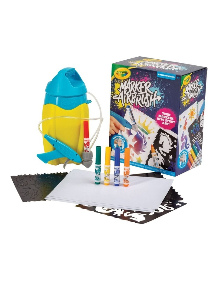 Crayola Marker Airbrush Set image 4