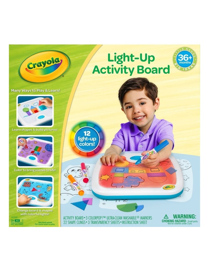 Crayola Light-Up Activity Board image 1