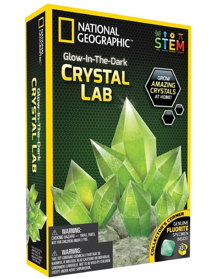 National Geographic Glow-in-the-Dark Crystal Lab image 1