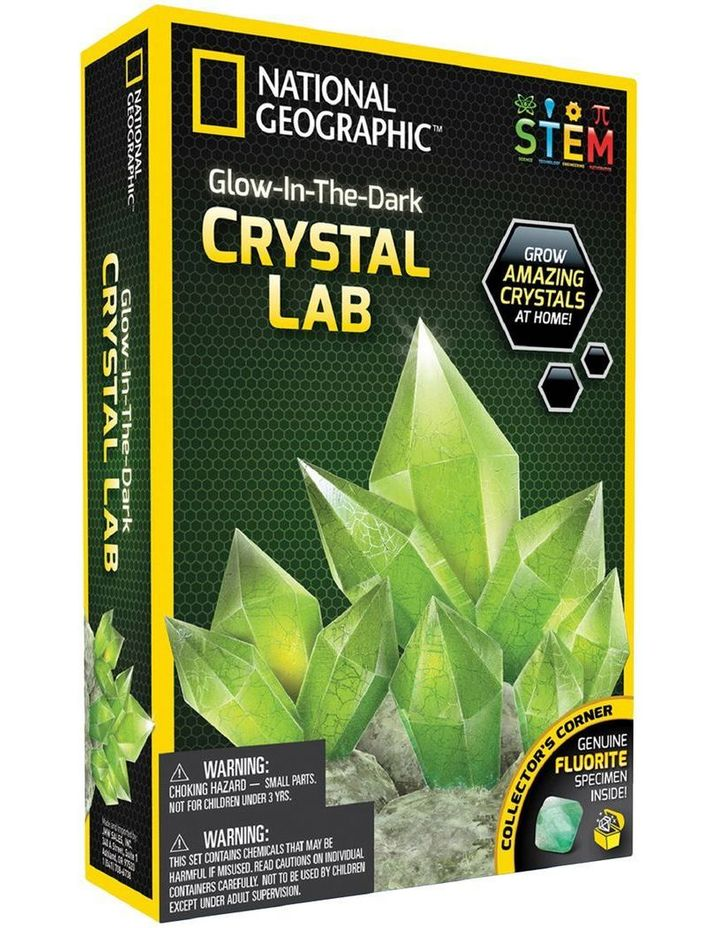 Glow-in-the-Dark Crystal Lab image 1