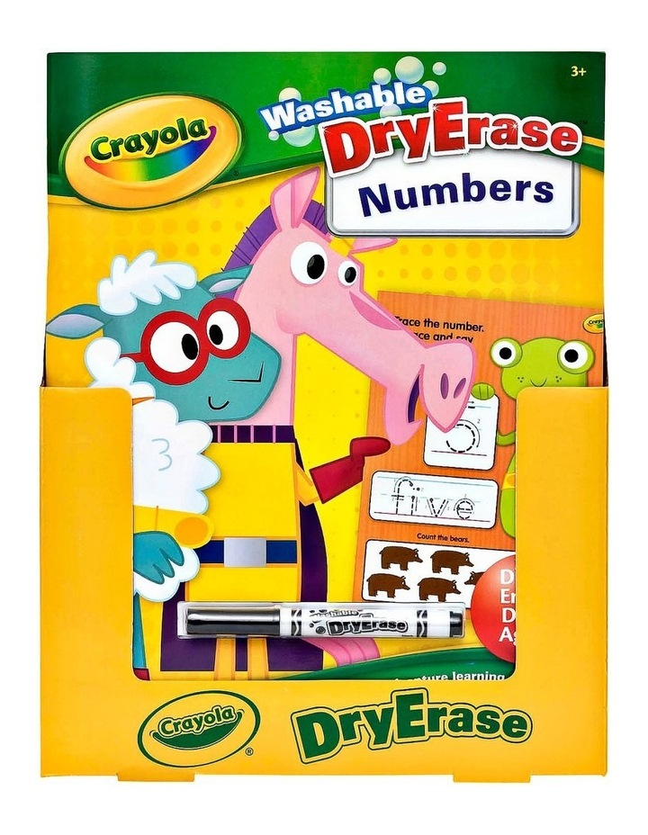 Dry Erase Workbook - Numbers image 1