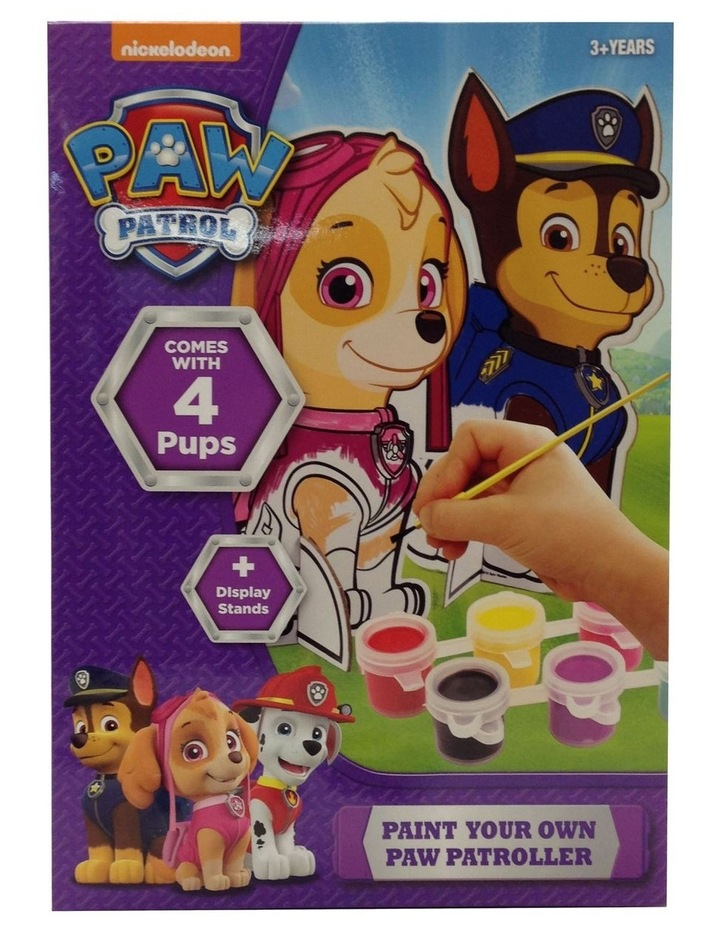 Paw Patrol Paint Your Own Patroller image 1