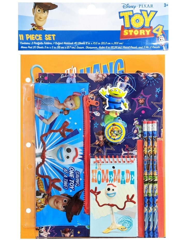 Toy Story 4 Stationery Set 11 Piece image 1