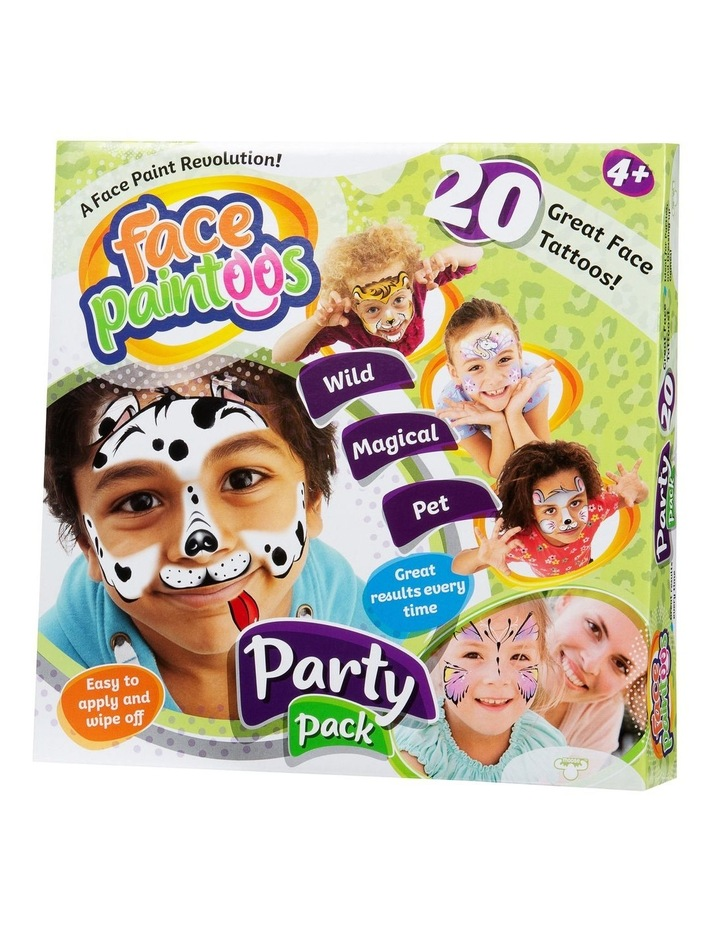 Face Paintoos - Party Pack image 1