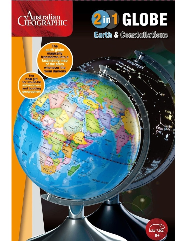 Australian Geographic 2 in 1 Globe with Constellations image 1