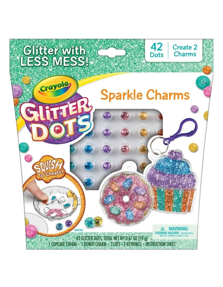Glitter Dots Sparkle Charms image 1