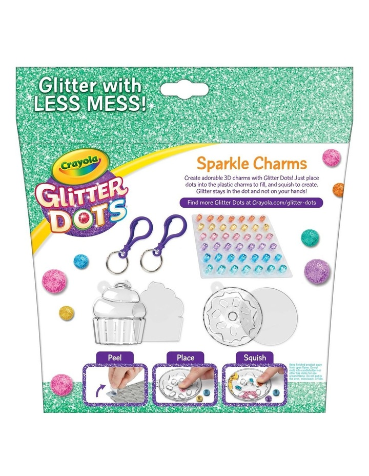 Glitter Dots Sparkle Charms image 2