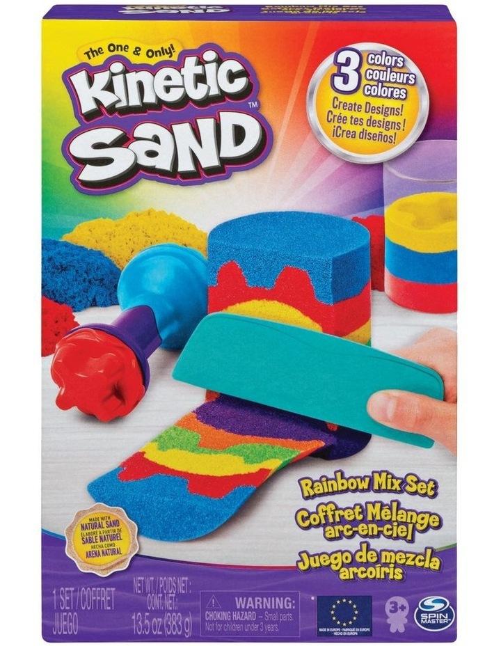 Kinetic Sand Rainbow Mix Set image 1