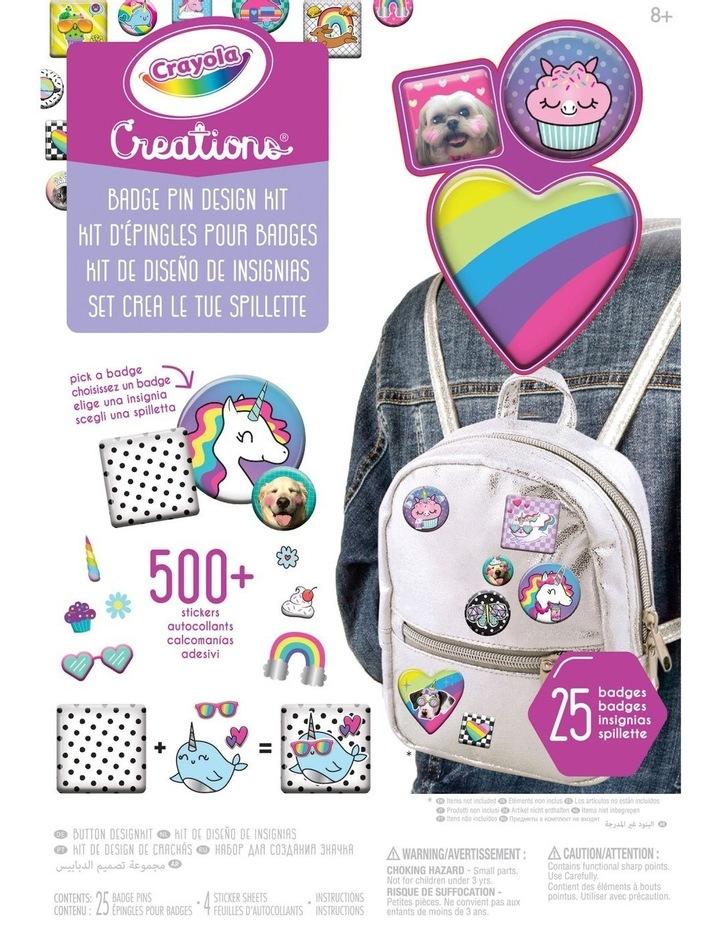 Creations Badge Pin Design Kit image 1