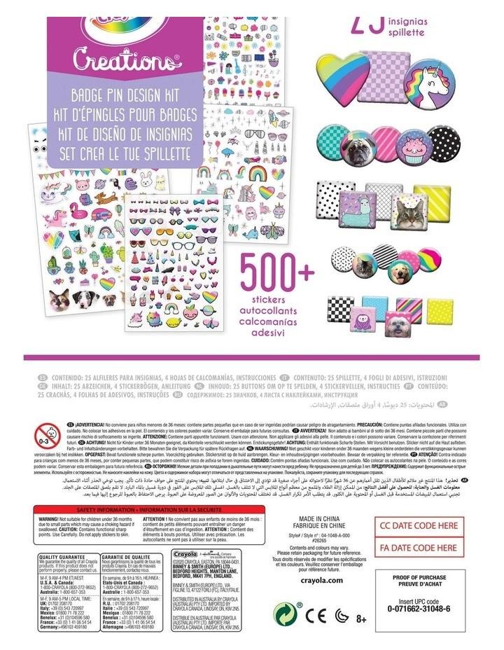 Creations Badge Pin Design Kit image 2