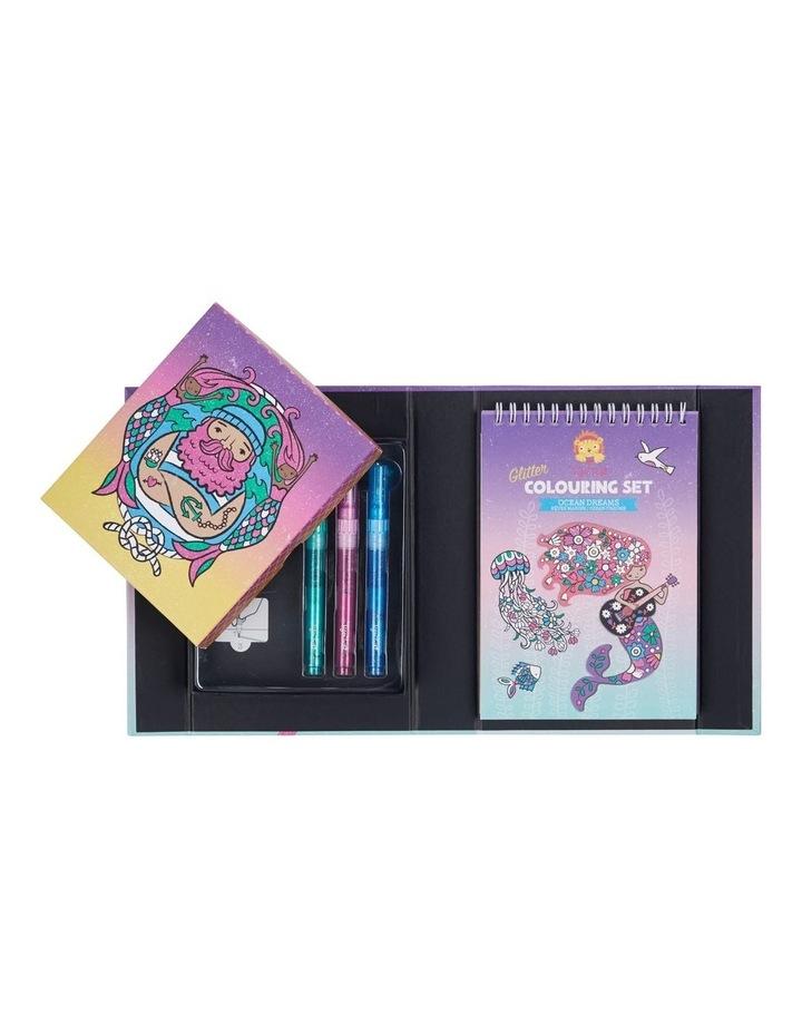 Glitter Colouring Set - Ocean Dreams image 2
