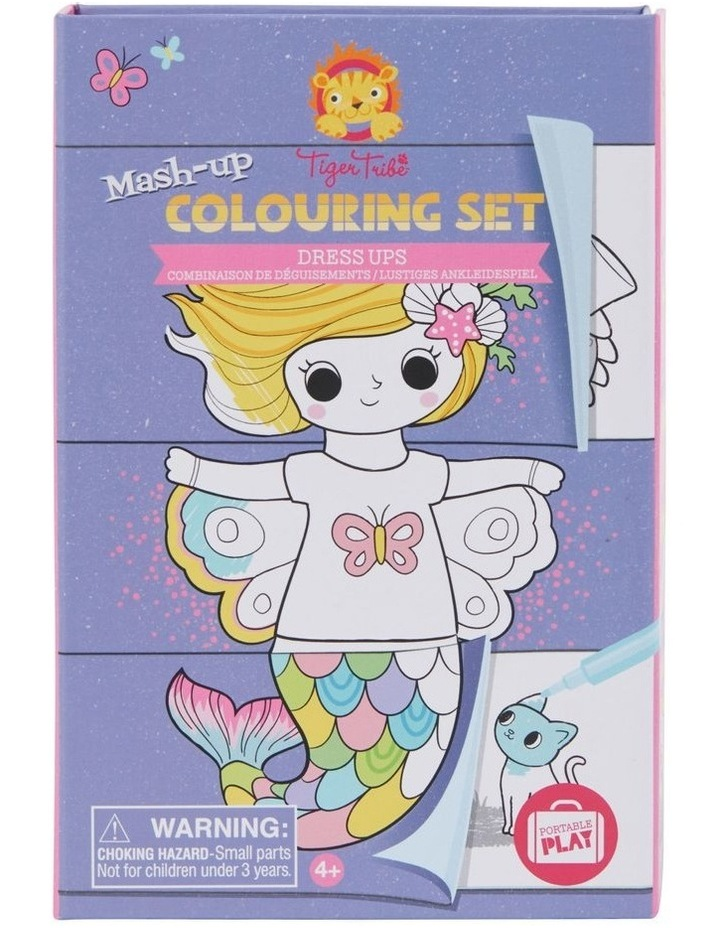 Mash-up Colouring Set - Dress Ups image 1