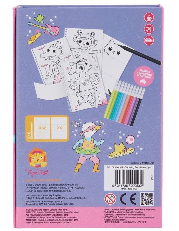 Mash-up Colouring Set - Dress Ups image 3
