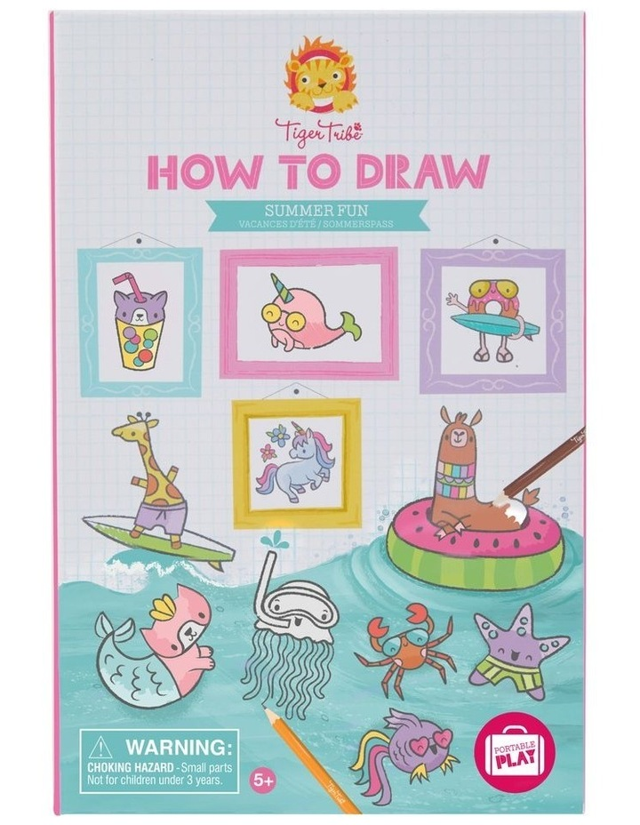 How to Draw - Summer Fun image 1