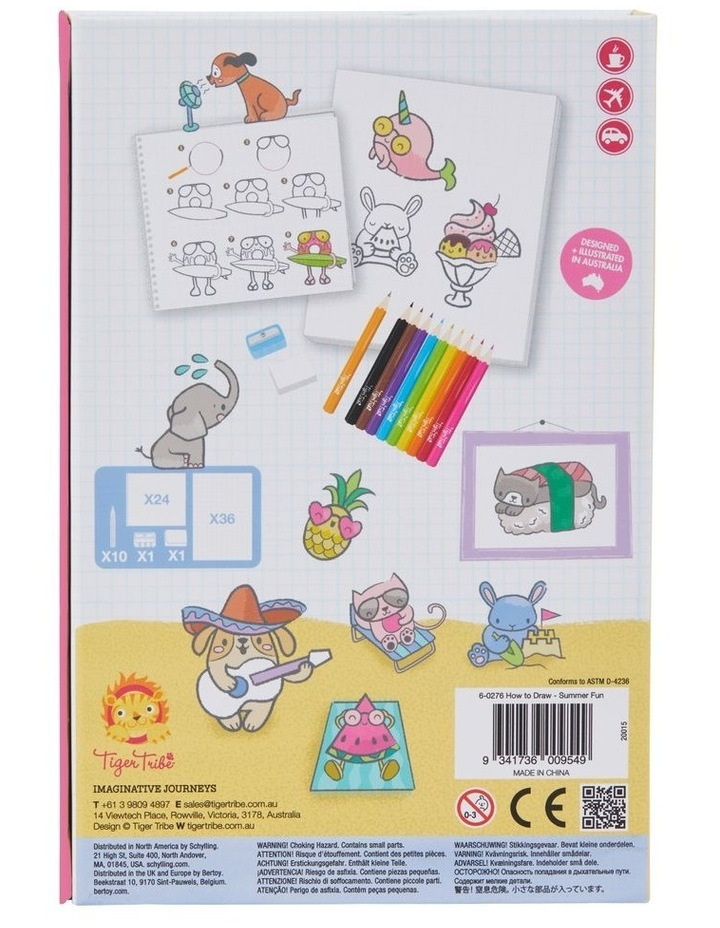 How to Draw - Summer Fun image 3