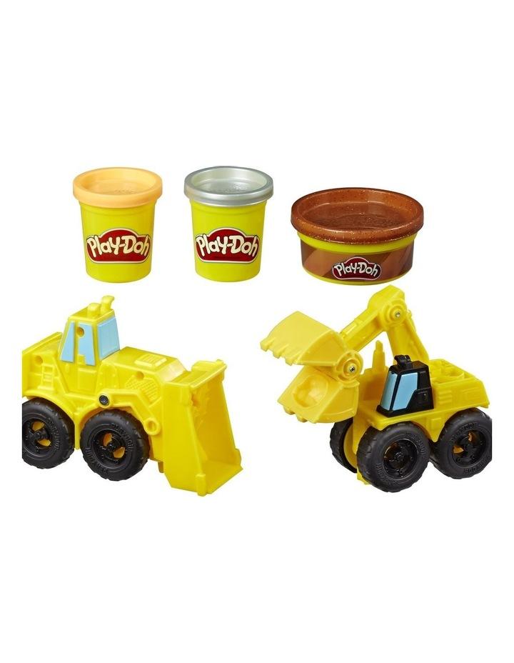 Excavator & Loader Construction Trucks Play Set image 2