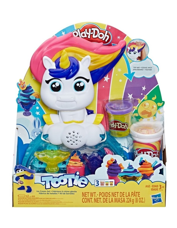 Kitchen Creations - Tootie the Unicorn Ice Cream Set Inc 3 tubs of dough image 1