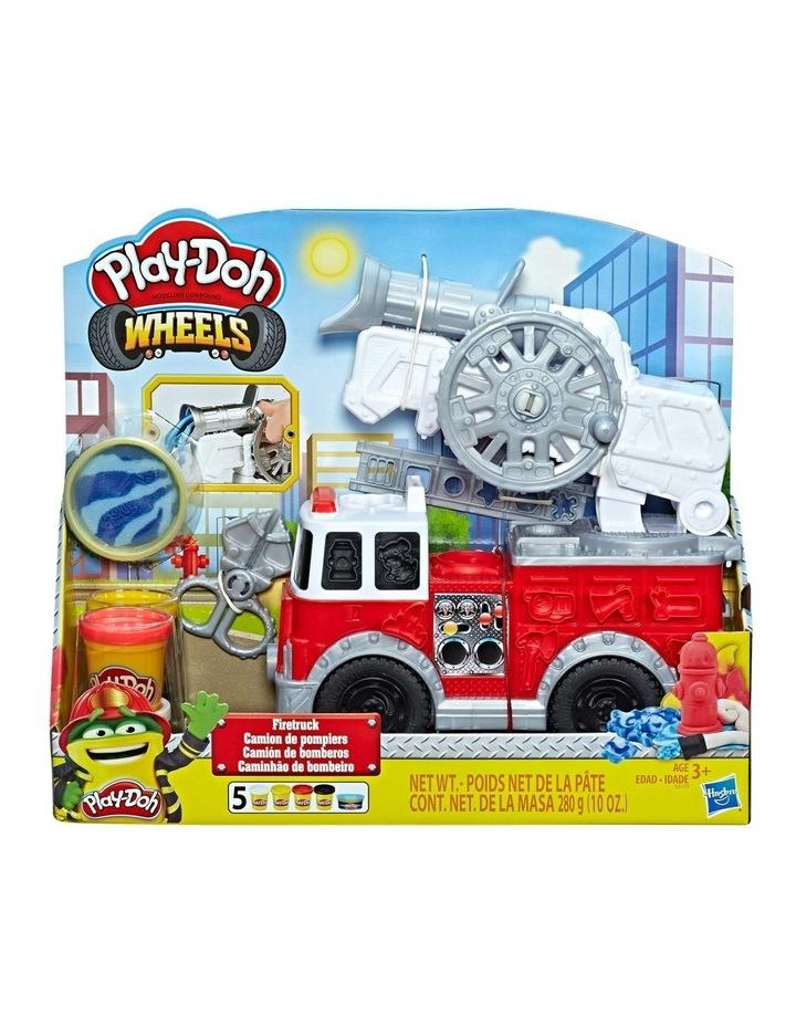 Wheels - Firetruck Play Set inc 5 tubs of dough image 1