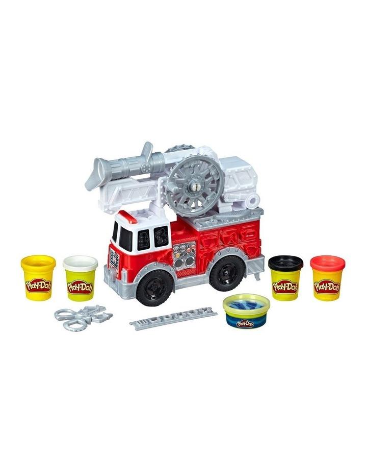 Wheels - Firetruck Play Set inc 5 tubs of dough image 2
