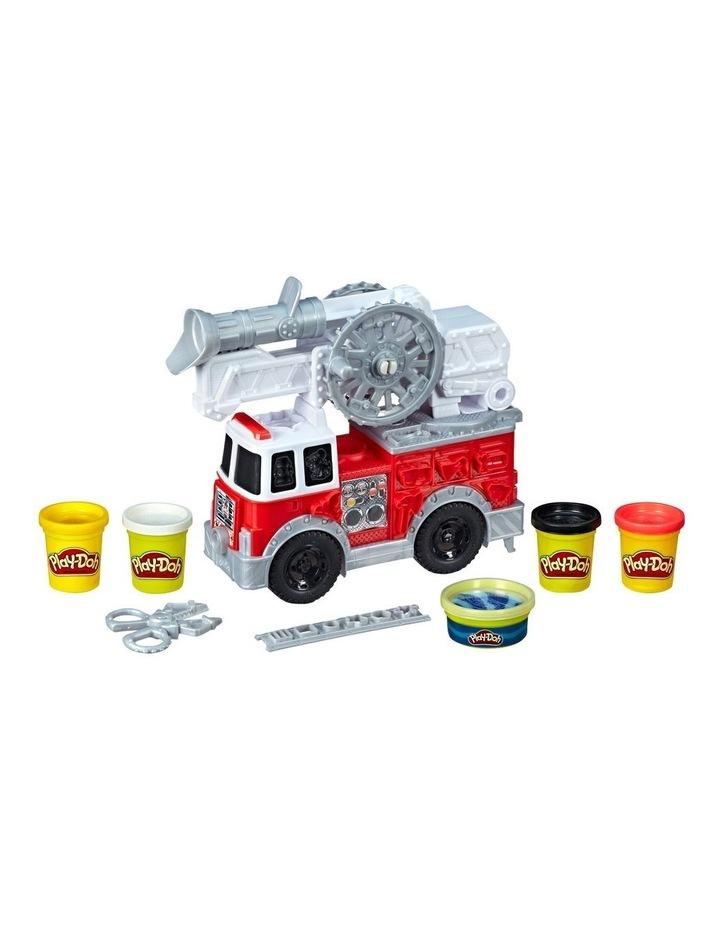 Wheels - Firetruck Play Set inc 5 tubs of dough image 3