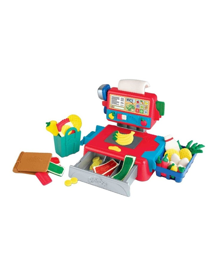 Cash Register Toy - Play Food Accessories & 4 Non-Toxic Dough Colours image 4