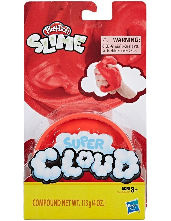 Play-Doh Super Cloud Single Fluffy Slime Compound Can Assortment image 1