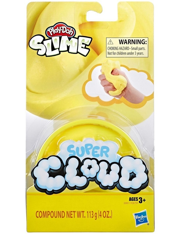 Play-Doh Super Cloud Single Fluffy Slime Compound Can Assortment image 2