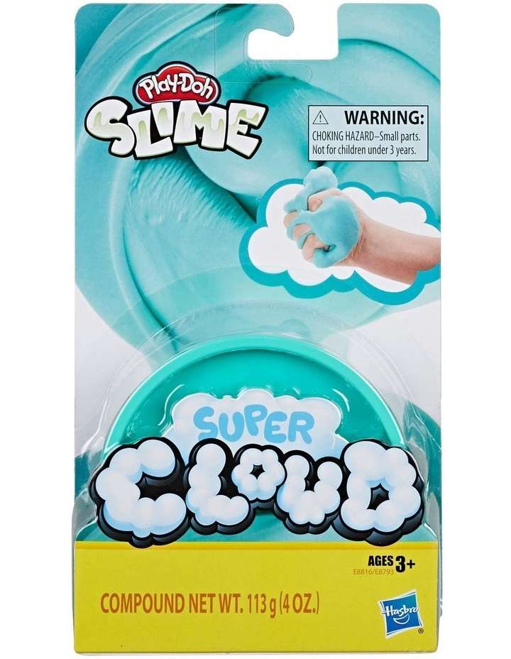 Play-Doh Super Cloud Single Fluffy Slime Compound Can Assortment image 3