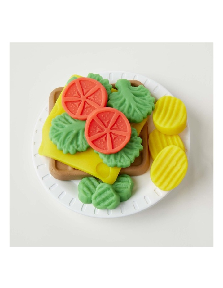 Kitchen Creations - Cheesy Sandwich Play Food Set - Incl Play-Doh Elastix Compound & 6 Dough Compounds image 7