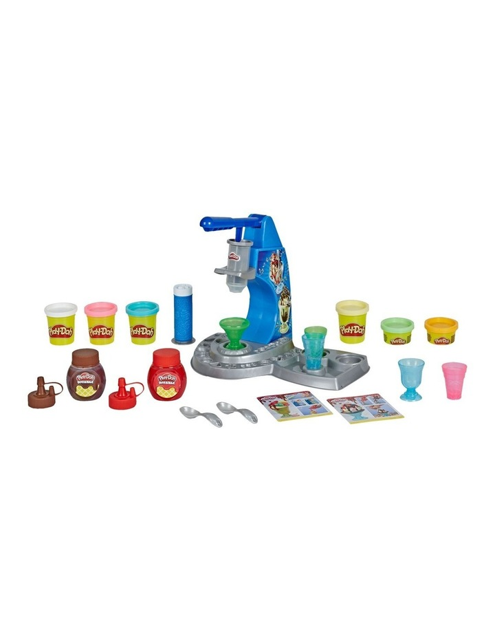 Play-Doh Kitchen Creations - Dizzy Ice Cream Playset - Inc Drizzle Compound & 6 Non-Toxic Play-Doh Colours - Ages 3  image 1