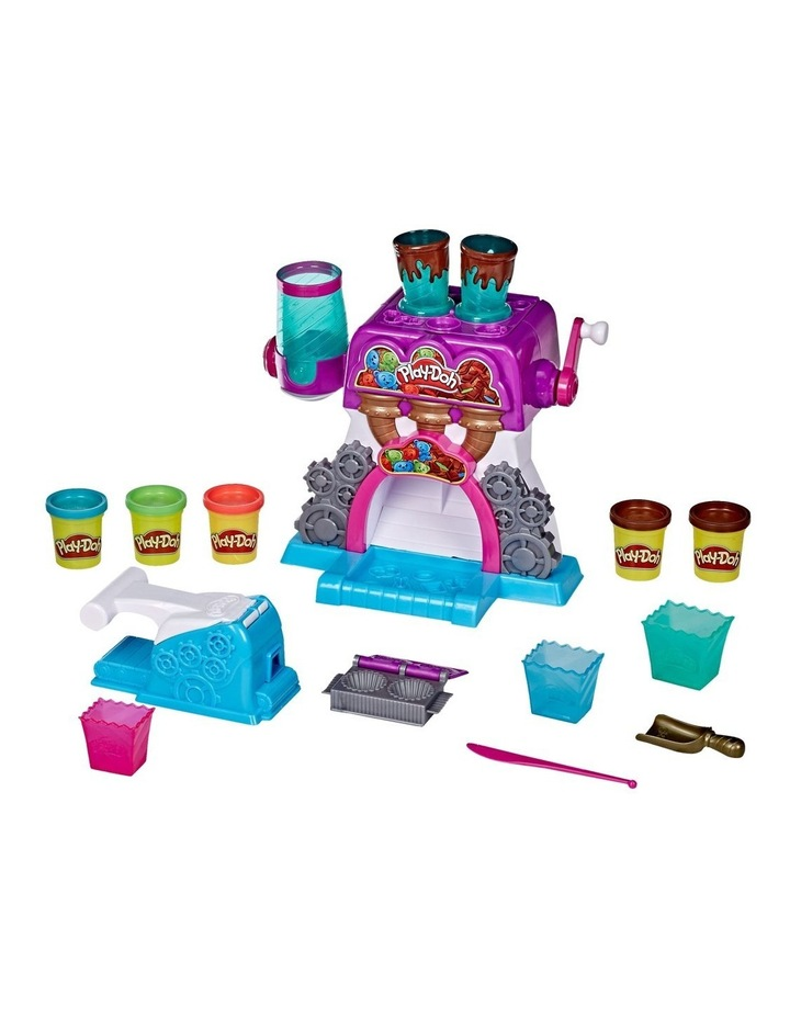 Play-Doh Kitchen Creations - Candy Delight Playset - Incl 5 Dough Compounds image 1