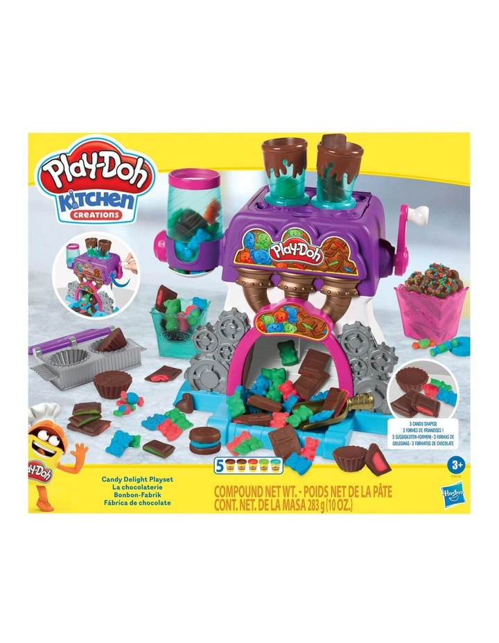 Play Doh Play Doh Kitchen Creations Candy Delight Playset Incl 5 Dough Compounds Myer