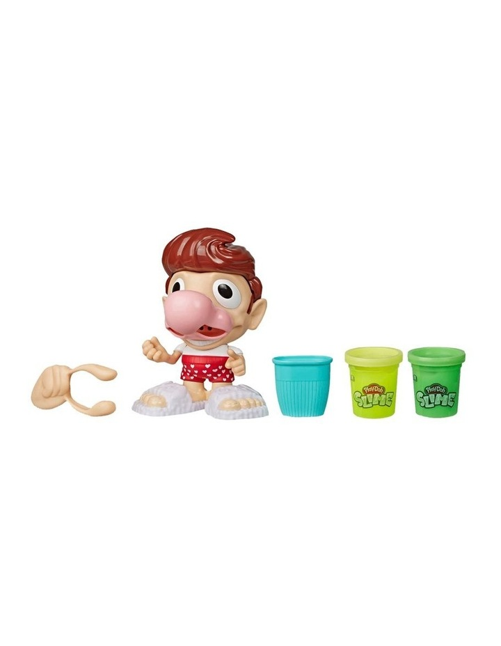 Play-Doh Slime - Snotty Scotty Funny Toy with 2 Cans of Slime image 2