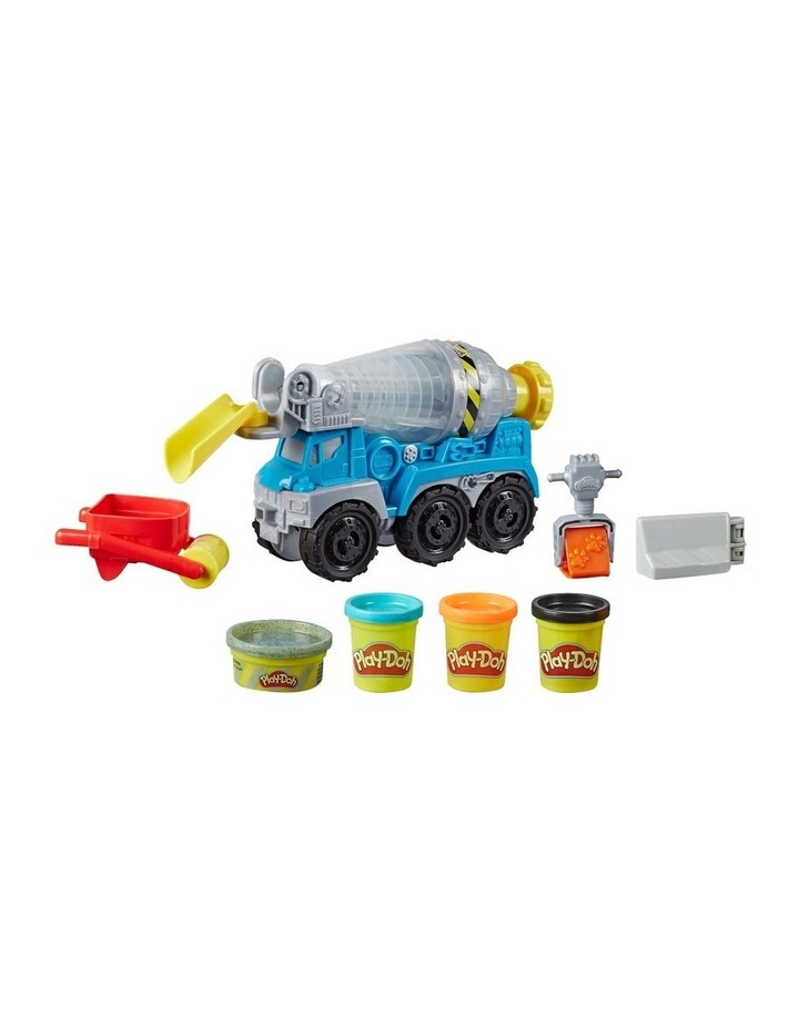 Wheels Cement Truck Toy with 4 Non-Toxic Colors image 2