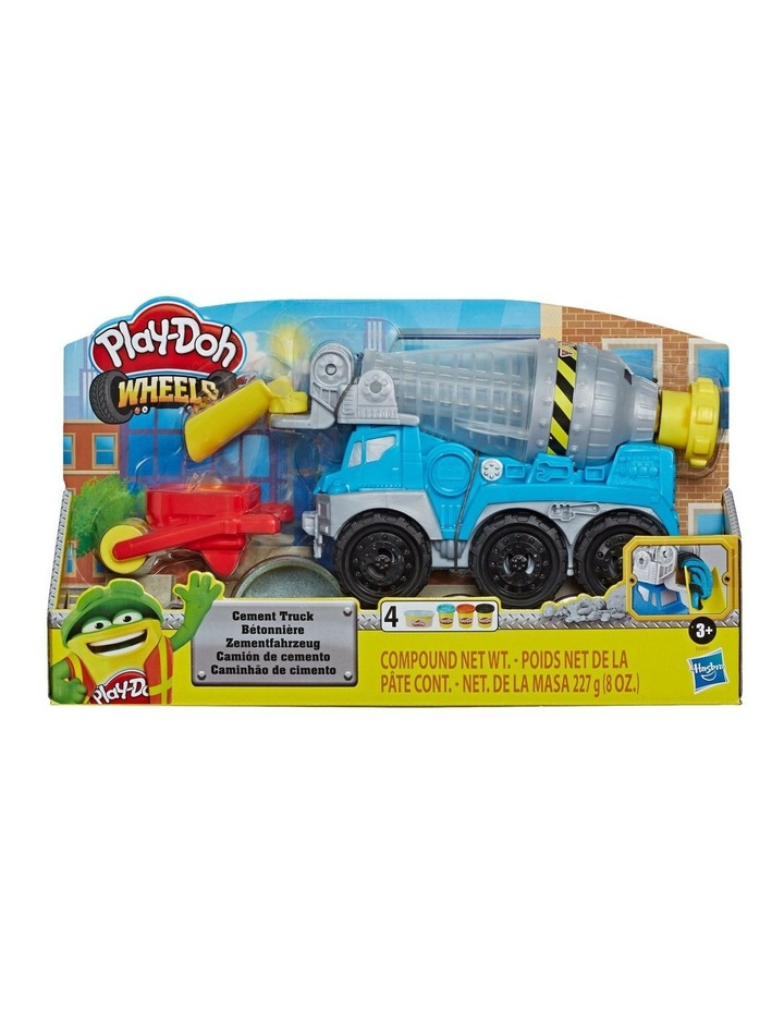 Wheels Cement Truck Toy with 4 Non-Toxic Colors image 3
