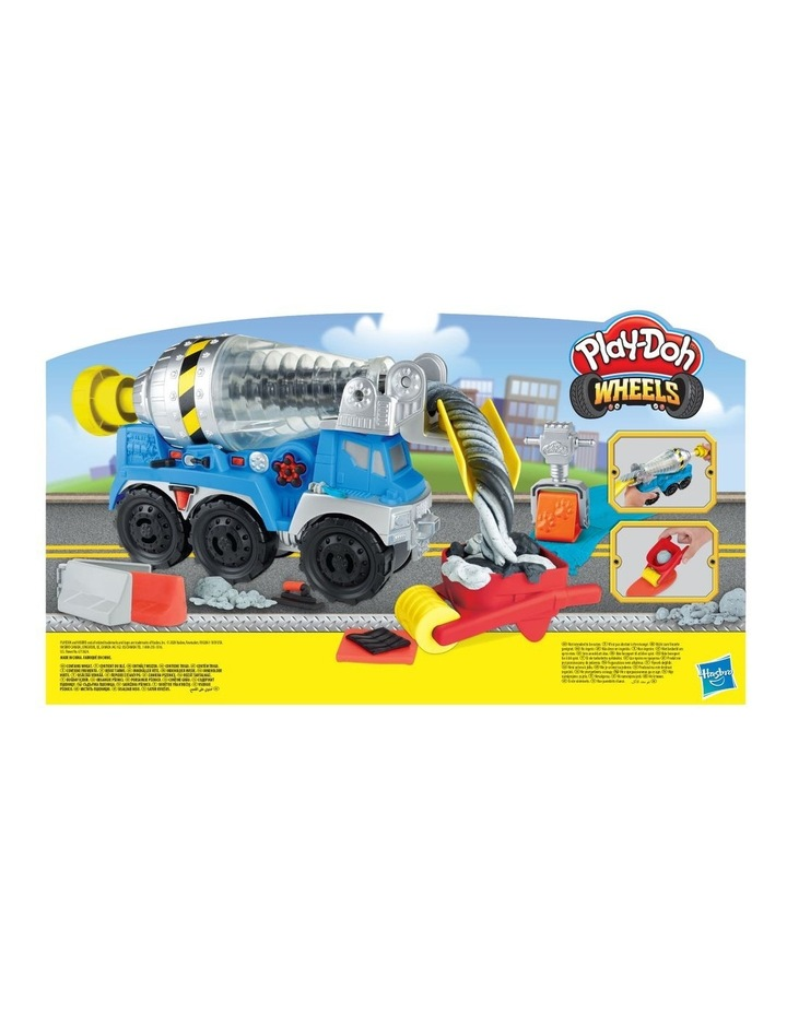 Wheels Cement Truck Toy with 4 Non-Toxic Colors image 4
