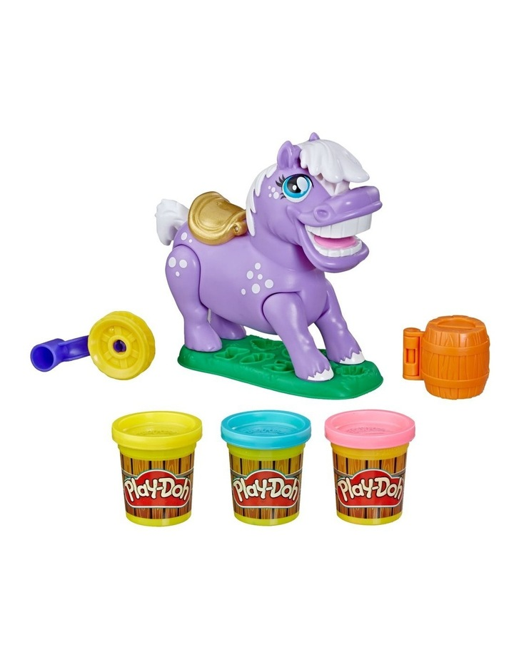 Animal Crew Naybelle Show Pony Farm Animal Playset with 3 Non-Toxic Colors image 1
